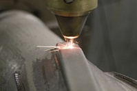 Shop works on repair and corrosion protection of parts' surface