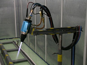 Development and producing of thermal spraying and laser/plasma cladding equipment